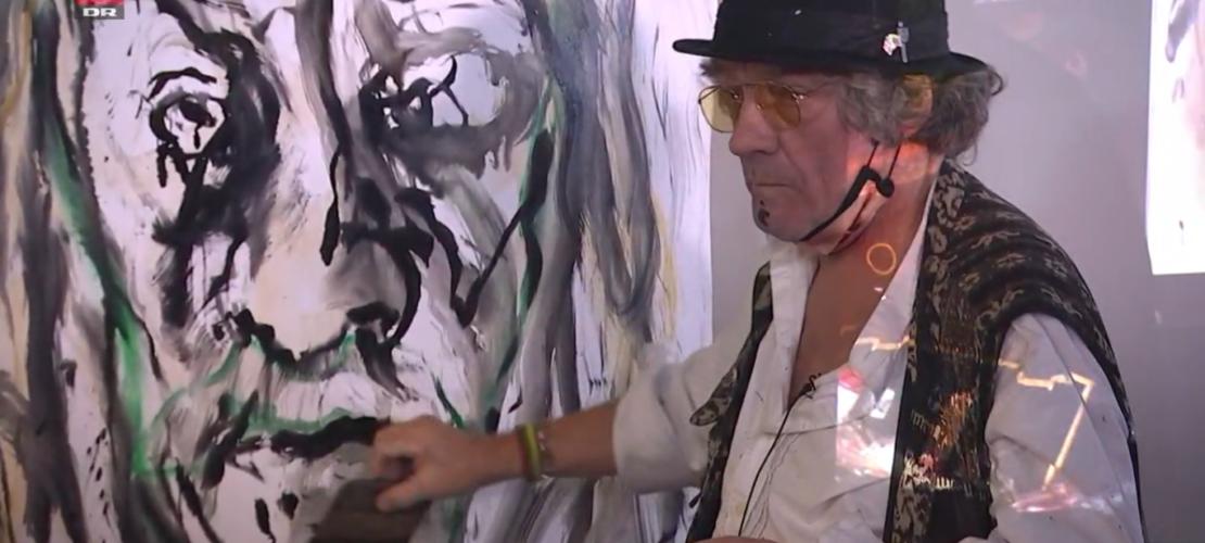 Atle Thorberg - Hans Krull - DR2 -Maleri og oplæsning